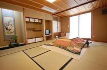 お風呂付き特別室;さくらの間10畳(バス・トイレ・洗面付き)の一例