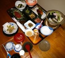 料理一例 旅籠プラン夕食