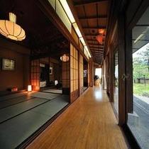 <仙渓園 桧> リピーターが最も多い特別室です 二度と同じ客室は作れません