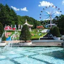 東北最大級の遊園地「リナワールド」 月岡ホテルよりお車で約10分!