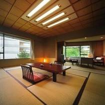 本丸特別室「桂」 6F角部屋からの眺めをお楽しみください