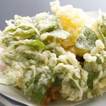 ■山菜天婦羅(料理一例)