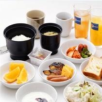 【長参】朝食バイキング