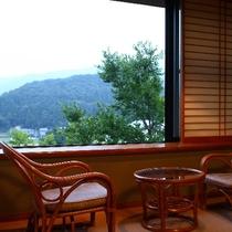 全客室の窓から「日本の原風景」が覗めます