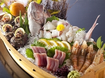 舟盛料理(一例)