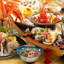 渚膳 季節の一例