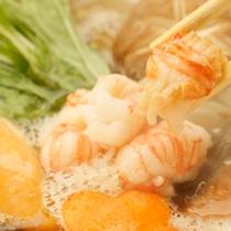 【料理】伊勢エビの海鮮鍋(春・夏)