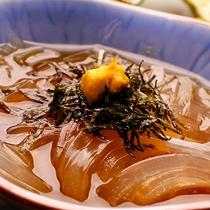 【夕食】季節の会席料理 一例