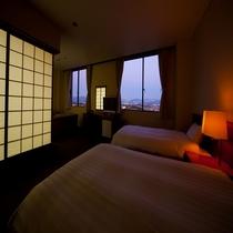 ◇和洋室◇ベッド2つに和室が付いた56㎡のお部屋