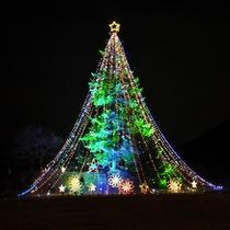 *クリスマスイルミネーション