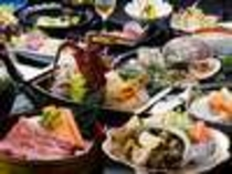 旬の5大グルメが楽しめる料理内容