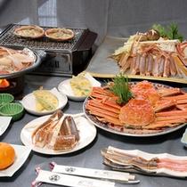 カニフルコースお料理(一例)