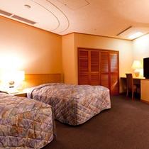 西館6階・和洋室・寝室