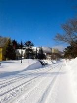 冬のペンションビレッジ