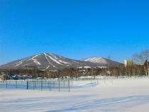 冬の安比高原 快晴