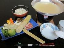 白湯スープ福味鶏鍋