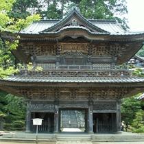 *善宝寺/龍神様が奉られたお寺です。当館よりお車で約10分