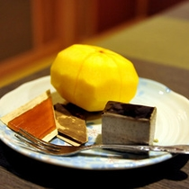 *デザート一例(秋)