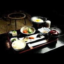 【ご朝食の一例】これぞ日本の朝ごはん!モリモリ食べてエネルギーチャージ!