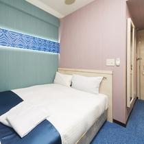 9・10・11階カップルセミダブルベッドルーム