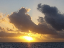 *ナータ浜の朝日