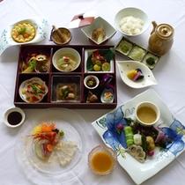 *温野菜などを使ったオリジナル湯ヶ島料理(イメージ写真)をお楽しみください