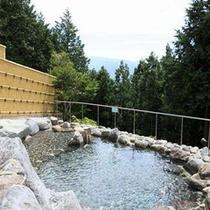 *【露天風呂】天然温泉につかって、疲れを癒しましょう。