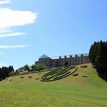*【ゴルフコース】ゴルフ場傍のホテルだから、自然溢れる空間です。