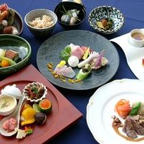 *四季折々で変わる、旬の食材を使用した伊豆の味覚をお楽しみください。