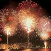 ◆夏の夜空を彩る『片山津温泉 納涼花火まつり』