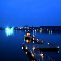 ◆夜の柴山潟