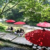◆鶴仙渓 川床