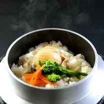 ◆別注料理:ほたて釜飯