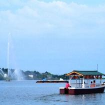 ◆柴山潟周遊船