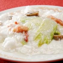 白菜の淡雪蟹肉あんかけ