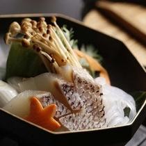 紅葉鯛の柚子香鍋