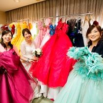■貸出ドレスコーナー