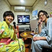 ■カラオケボックス☆カップルでルンルン♪歌の時間