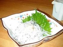 白魚のお刺身