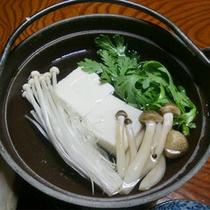 朝食の湯豆腐(イメージ)