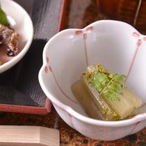 【ご夕食(付き出し)】家庭的な味わいのある京料理(一例