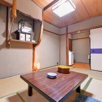 【町家風和室6畳】京都の旅を町家風のお部屋でごゆっくりとお寛ぎください。