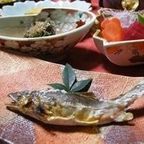 鮎の塩焼きイメージ
