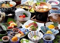 【夕食一例/夏〜秋】¥15,000〜19,000
