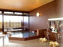 日本海が見える大浴場