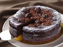 ホテルパティシエが作るガトーショコラのケーキ「ショコラリーシュ」