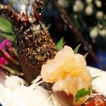 【料理】コース料理(調理法選択・伊勢エビお造り)