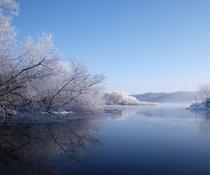 静けさと美しさ「厳冬」