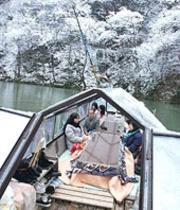 冬のげいび渓