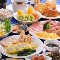郷土の食材を使った和洋バイキング(6:45〜9:30OS)